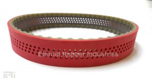 255Hx38 Draw Down Belt With Perforations