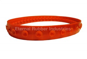 Track Belt with Suction Cleats
